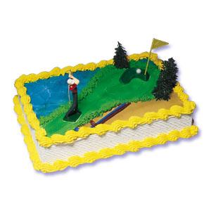 Golf Cake Decorating Instructions (Man)