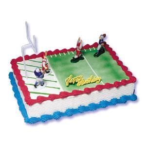 Cake Decor Football : Football II Cake Decorating Instructions
