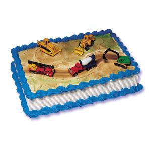Construction Site Cake Decorating Kit