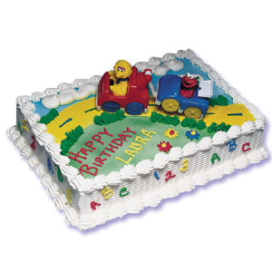 Sesame Street Cake Decorating Instructions