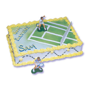 Cake Decorating: Tennis Female Cake Decorating Instructions