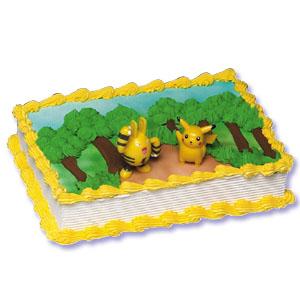 Pokemon Cake Decorating Instructions