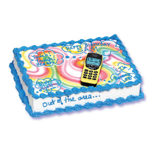 Cell Phone Cake Decorating Instructions