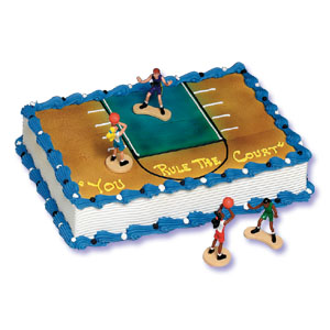 Basketball African American Girls Cake Decorating Instructions