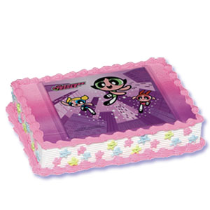 Powerpuff Girls Xtreme Cake Decorating Instructions