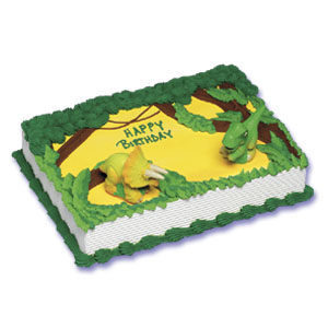 Jurassic Park Junior Cake Decorating Instructions