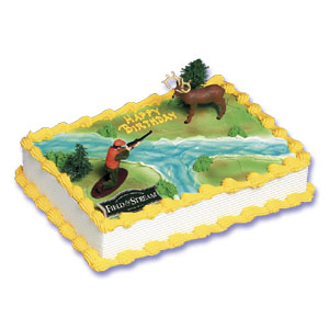 Duck Hunting Cake Decorating Kit : Field and Stream Deer and Hunter Cake Decorating Instructions