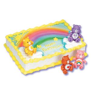 Care Bears Cake Decorating Instructions