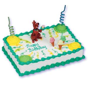 Scooby Doo Bobble Head Cake Decorating Instructions