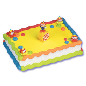 Balancing Clown Cake Decorating Instructions