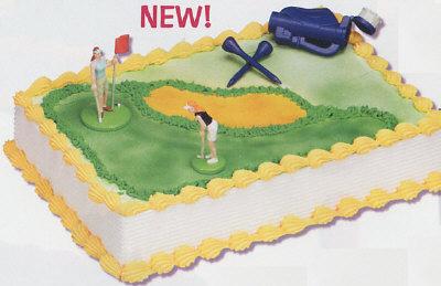 Cake Decorating Bag Instructions : Female Golfer Cake Decorating Instructions