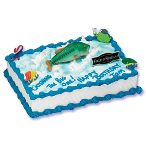Field Amp Stream Bass Cake Decorating Instructions