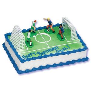Soccer cake recipes