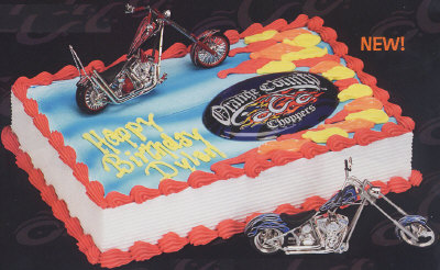 Cake Decorating Orange County Choppers Instructions