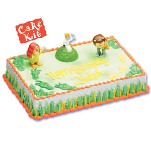 Where the Wild Things Are Cake Decorating Instructions