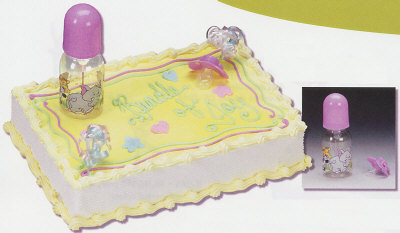 cake decorating baby shower baby bottle pacifier cake decorating