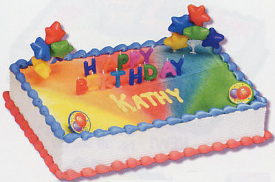 Happy Birthday Candles Cake Decorating Instructions