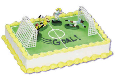 Cake Decorating Ideas For Soccer : Girls Soccer Cake Decorating Instructions