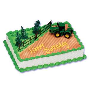 John Deere Tractor Cake Decorating Instructions
