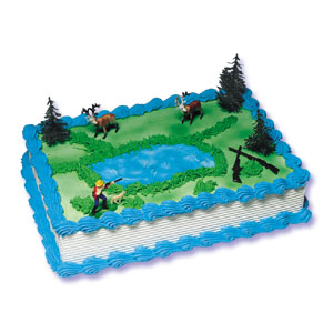 Hunter Cake Decorating Instructions
