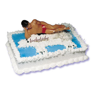 Cake Decor For Man : Macho Man Cake Decorating Instructions - African-American