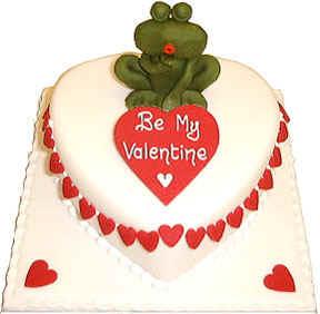 تزيين بطرق رائعة ...خطوة بخطوة وصورة بصورة valentine_cake_frog.