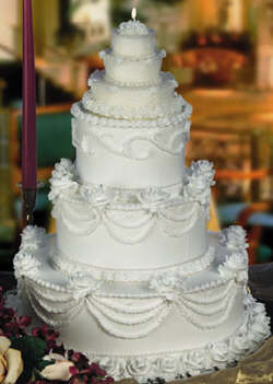Wedding cake Icing and Frostings