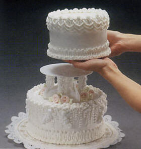 Tier Cakes - Plate & Column Assembly