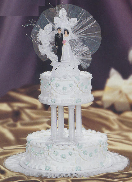 Rhapsody in blue wedding cake kit ak 010 wedding cake decoration cake decorating rhapsody in blue wedding cake junglespirit Images