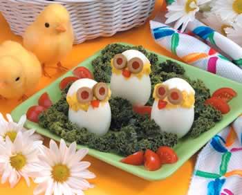Предястия с яйца. 574